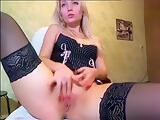Cutie Wetpussy fucks herself in the chair