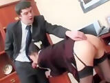 ass fucked secretary