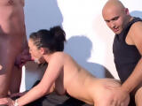Cuckold Swap German Wife Lisa with Stranger at MMF Threesome