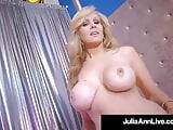 Stripper Mom!? Milf Julia Ann Finger Fucks After Stripping!