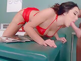 Slut Hot Patient (Karlee Grey) Get Seduced By Doctor And Banged mov-16