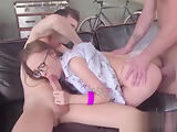 Bosses Rob Nerd Secretary' s Virginity