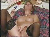 Amateur Milf wants you to enjoy her stockings & hot pussy