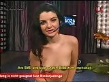 Diana Kolentsova (Aida), hidden masturbation in Bulgarian TV