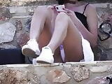 Isolation Upskirt in Park