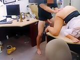 Big ass brunette woman gets her pussy banged at the pawnshop