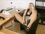 The horny secretary