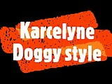 Karcelyne doggystyle