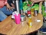 Desi Wife share with drunk friends