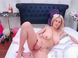 Busty blonde free porn webcam