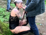 MyDirtyHobby -Mature German publicly creampied by random guy