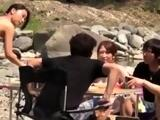 Real swingers outdoor group sex
