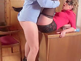 Boss Fucks His Secretary On The Desk