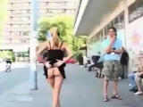 Street Public Voyeur Flashing Sexy Video